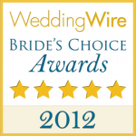 Wedding Wire Bride's Choice Awards 2012 Badge