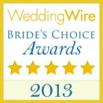 Wedding Wire Bride's Choice Award 2013 Badge