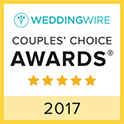 Wedding Wire Couples Choice Awards 2017 Logo