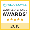 Wedding Wire Couples Choice Award 2018