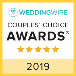 WeddingWire Couples' Choice Award Winner 2019 logo