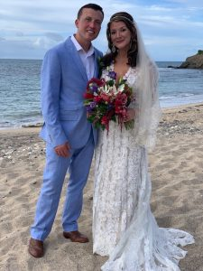 Patricia and Drew Married 6-24-19 at Whistle Beach, St. Croix