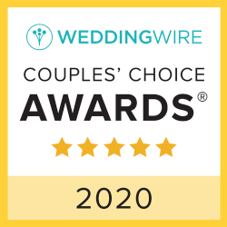 WeddingWire Couples Choice Award Winner 2020 badge