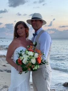 Michele and Douglas - married 7-16-20 at Sandcastle Resort Fredriksted